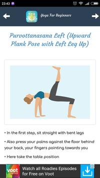 Yoga Tips For Beginners screenshot 2