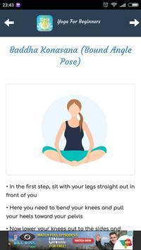 Yoga Tips For Beginners screenshot 3