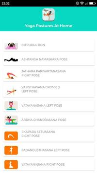 Yoga Postures At Home poster