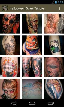 Halloween Scary Tattoos apk screenshot
