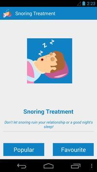 Snoring Treatment apk screenshot