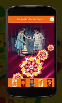 Raksha Bandhan Card Maker apk screenshot