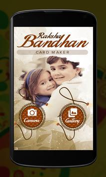 Raksha Bandhan Card Maker poster