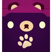 Teddy Roll Bear Drop icon