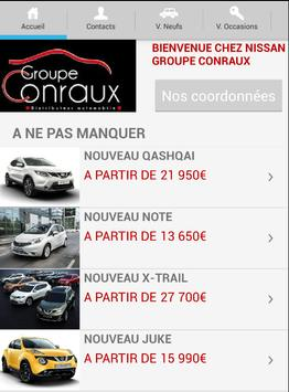NISSAN CONRAUX poster