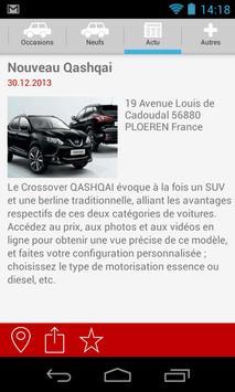NISSAN GOLFE AUTOMOBILE VANNES screenshot 1
