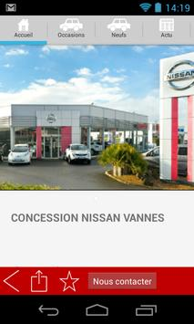 NISSAN GOLFE AUTOMOBILE VANNES screenshot 2