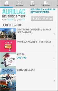 Aurillac Développement apk screenshot