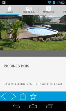 REVE DE BLEU PISCINES SPAS apk screenshot