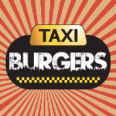 Taxi burgers icon