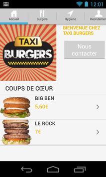 Taxi burgers apk screenshot