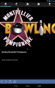Bowling de Montpellier poster