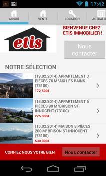 ETIS Immobilier poster