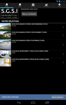 SGSI Immobilier apk screenshot