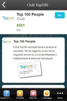 Club Top 100 People apk screenshot
