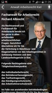 Anwalt Arbeitsrecht Kiel apk screenshot