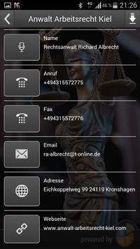 Anwalt Arbeitsrecht Kiel screenshot 3