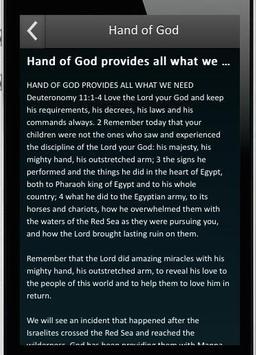 Hand of God apk screenshot
