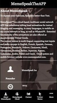 MemeSpeakTheAPP (updated Android APP is MemeSpeak) poster