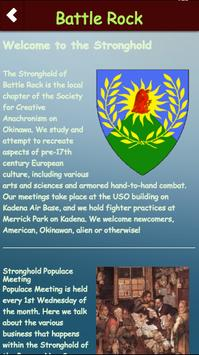 Stronghold of Battle Rock poster