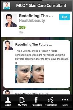 MCC ~ Skin Care Consultant screenshot 1