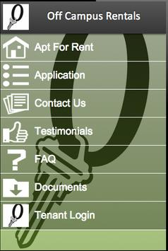 Off Campus Rentals screenshot 3