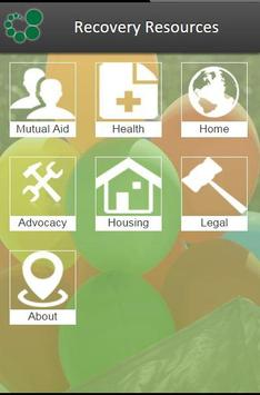 RI Recovery Resources apk screenshot