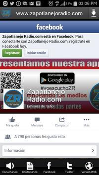 www.zapotlanejoradio.com screenshot 3