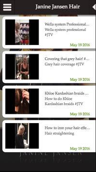 Janine Jansen Hair apk screenshot