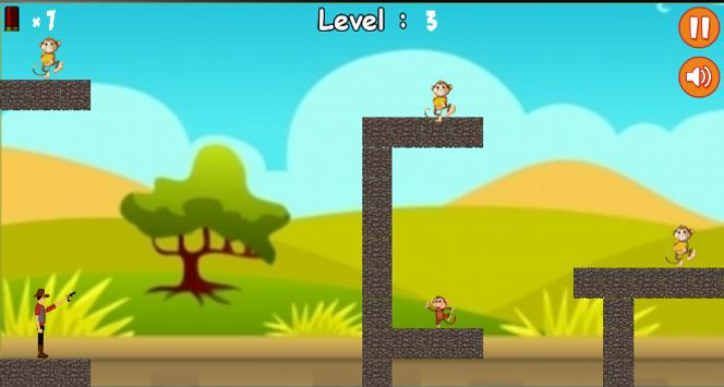 Crazy Monkey Shooter apk screenshot