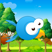 fly bird coco icon