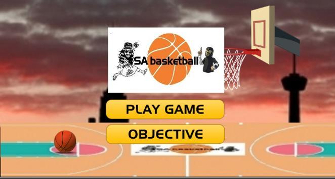 SA Basketball poster