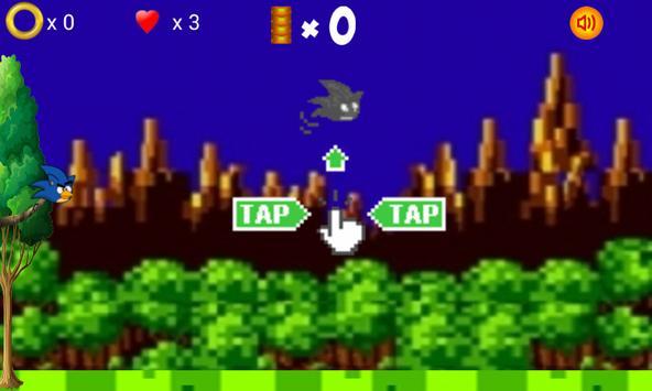 Angry Sonic Bird 3 apk screenshot