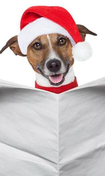 Christmas animals Themes poster