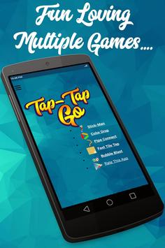 Tap-Tap Go 2 - Multiple Puzzle Tap Games for Kids poster