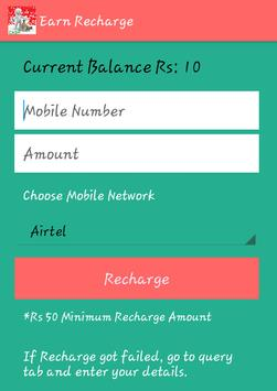 Real N Free Recharges screenshot 1
