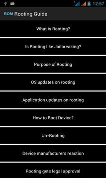 Rooting Android Guide - Phone Rooting apk screenshot
