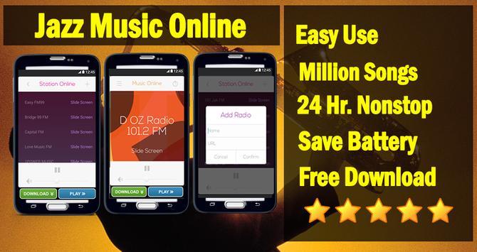 Jazz Music Free Radios Songs poster