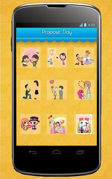 Valentine's Stickers,Smileys,Posters and Wallpaper syot layar 1