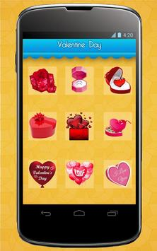 Valentine's Stickers,Smileys,Posters and Wallpaper syot layar 7
