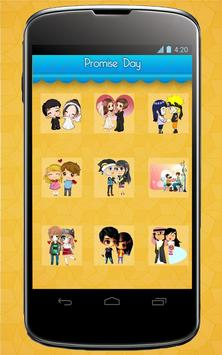 Valentine's Stickers,Smileys,Posters and Wallpaper syot layar 4