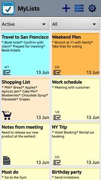 Shopping List Notes To Do Milk apk screenshot