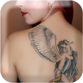 Angel Tattoo Wallpapers v1 - Tattoo Design Gallery icon