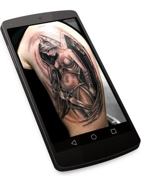 Angel Tattoo Wallpapers v1 - Tattoo Design Gallery poster