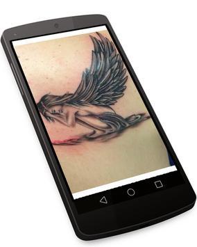 Angel Tattoo Wallpapers v1 - Tattoo Design Gallery screenshot 1