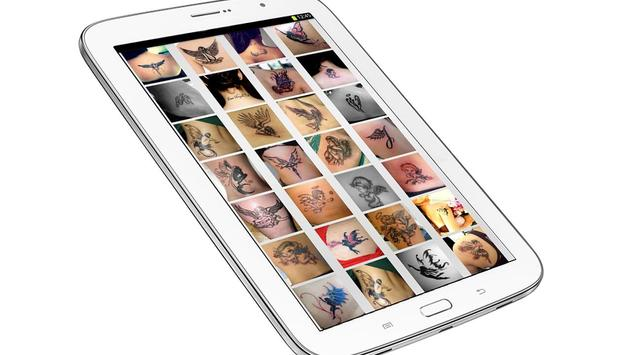 Angel Tattoo Wallpapers v1 - Tattoo Design Gallery apk screenshot