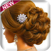 Hairstyle Changer for Girl - Images and Videos icon