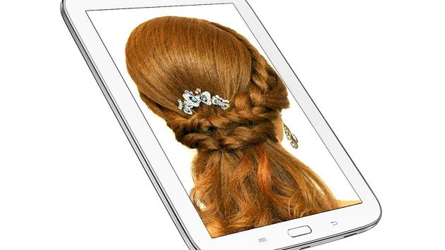 Hairstyle Changer for Girl - Images and Videos screenshot 14