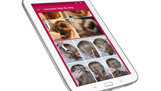 Hairstyle Changer for Girl - Images and Videos screenshot 10