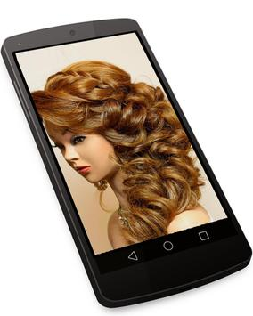 Hairstyle Changer for Girl - Images and Videos screenshot 1
